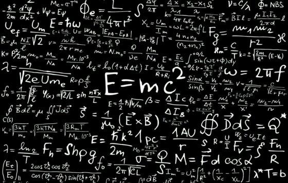 physicsEquationsOnBlackboard